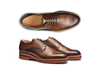 The August: Double Monk Strap Wingtip