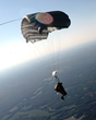 Alex Coker, HAHO jumps, Halojumper, Incredible Adventures, high-altitude skydive, skydiving
