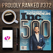 Video Tech Startup, Vydia, Debuts on the Inc 500 list of America's Fastest-Growing Companies