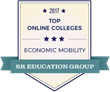 SR Education Group Releases Reports of the 2017 Top and Most Affordable Online Colleges for Student Economic Mobility