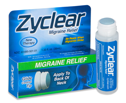 Zyclear Migraine Relief Package