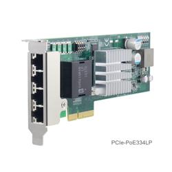 Low-profile 4-port Server-grade Gigabit PoE+ Card