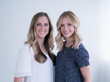 Spun Sheets co-founders Chloe Reynolds (left) and London Sutherland say the design of bed sheets hasn't been improved for decades, which is why they created easy-to-fit Spun Sheets.