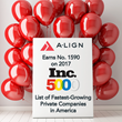 A-LIGN Earns Place on 2017 Inc. 5000 List of Fastest-Growing Private Companies in America
