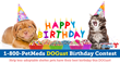 1-800-PetMeds®, America's Largest Pet Pharmacy®, Announces the Winners of the 2017 1-800-PetMeds Cares™ DOGust Birthday Contest