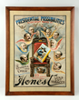 Honest Brand Tobacco Paper Poster, estimated at $2,500-5,000.