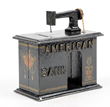 American Sewing Machine Bank, estimated at $15,000-25,000.