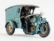 "Hubley ""Say It With Flowers"" Delivery Motorcycle, estimated at $25,000-35,000."