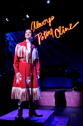 Singer Erica Hansen as Patsy Cline.