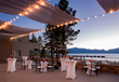 A perfect venue for weddings, conferences or just guests enjoying the view, The Landing's rooftop deck emphasizes the resort's close connection with sparkling Lake Tahoe from its South Lake Tahoe, Cal