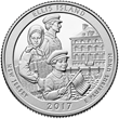 """United States Mint Joins National Park Service on """"Island of Hope"""" to Release Newest Quarter"""
