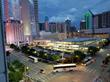 Shuttle transportation in downtown Dallas
