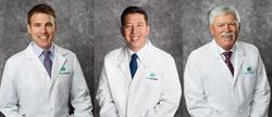 Kris Pugh, MD; Edwin Apenbrinck, MD; Brad Black, MD, of Dr. Black's Eye Associates