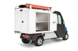 The new van boxes accommodate optional top-mounted dual ladder racks and other accessories.