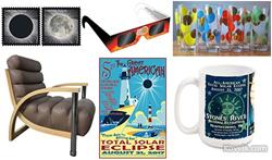 kovels, antiques, collectibles, eclipse, solar eclipse, eclipse collectibles