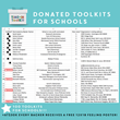 29 schools have been nominated to receive 100 donated Time-In ToolKits via the Kickstarter campaign.