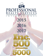 Professional Realty Services International Ranked On INC Magazine's List Of Fastest Growing Companies in America For The 3rd Year In A Row