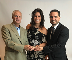 Jupiter Florida Magazine staff receives Charlie Award at Florida Media Conference