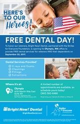 Veteran's Dental Day Flyer