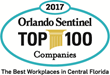 "Riptide Software Awarded as ""Top 5 Best Places to Work"" in Orlando for Second Consecutive Year"