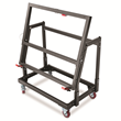 In the vertical position, Material Mate can pass through a 30-inch wide doorway.