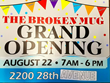 The Broken Mug coffee  house Columbus, Nebraska holds its grand opening August 22, 2017
