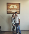 Mandy & Todd Tuls, owners of The Broken Mug coffee house in Columbus, Nebraska