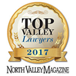 Kevin Rowe Named Top 2017 Phoenix Personal Injury Lawyer by North Valley Magazine