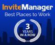 InviteManager named one of LA's Best Places to Work for 3rd Year in a Row