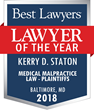 Best Lawyers - Lawyer of the Year badge