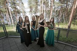 Seraph Brass in Finland, Summer 2017