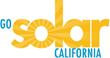 Go Solar California logo.