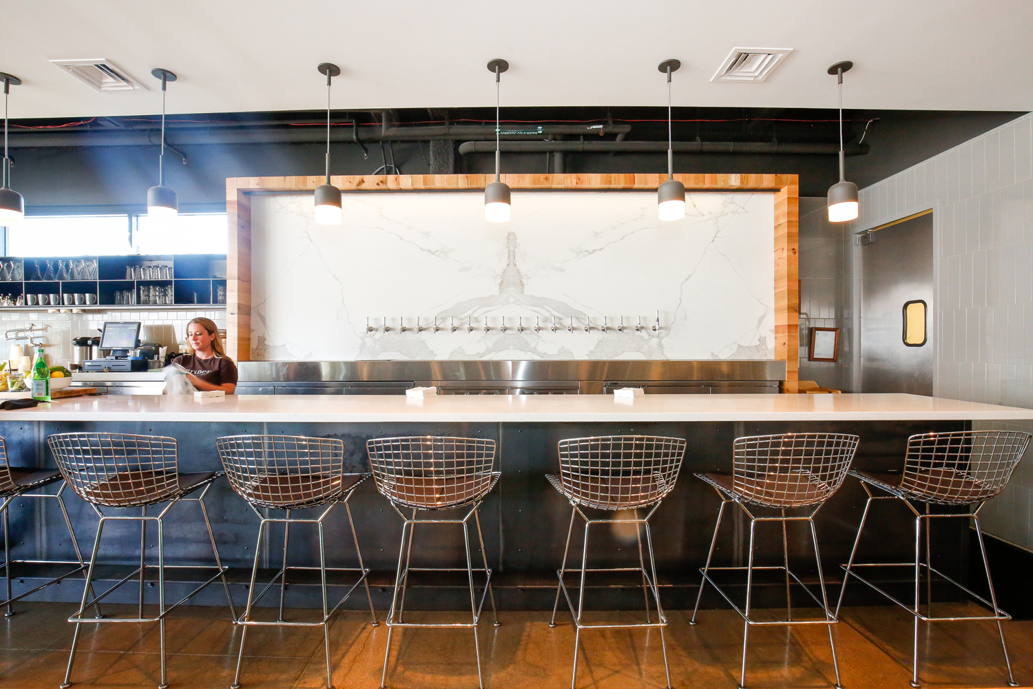 Denvers Fast Casual Rotisserie Restaurant Brider Boasts Design By Award Winning Architects Arch11 And Menu Chef Steven Redzikowski