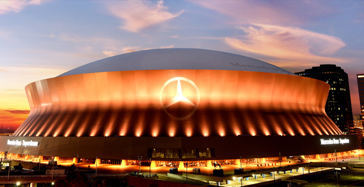 Mercedes Benz Superdome Again Selects Act Global Synthetic