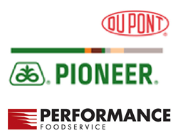 DuPont Pioneer and Performance Food Group Logos