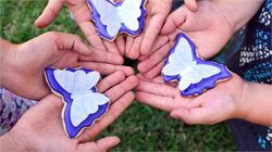 butterfly kisses foundation cookies