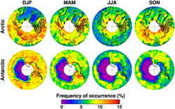 "Fig. 7, ""Optically thin midlevel ice clouds derived from Cloud Aerosol Lidar and