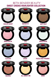 Beth Bender Beauty - Sweet Cheeks Highlighter Collection