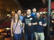 Bowling for Dollars - (L2R)  Jeni Lowery, Kevin Trudel, Kevin Wells, Philip Nieman, Andrew Hubbard