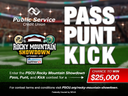 Public Service Credit Union is Official Credit Union of the Rocky Mountain Showdown 2017