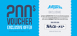 ArtTracks Exclusive Offer Voucher