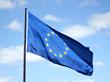 ©Justus Blümeer. The flag of the European Union (EU)