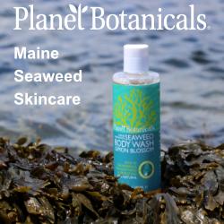 Maine Seaweed Skincare, Planet Botanicals, Seaweed Skincare, Seaweed