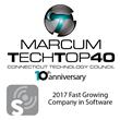 Exago Recipient of Marcum Tech Top 40 Award.