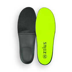 Zelus Insoles presents the Olympus full arch-support insole.