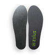 Zelus Insoles are available in 3/4 length, full length, arch support and non-arch support options.