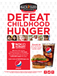 Join Back Yard Burgers for No Kid Hungry Dine Out in September