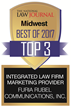 The National Law Journal Readers Vote Furia Rubel Among 'Best of Midwest'