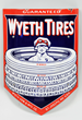 Wyeth Tires w/ Boy Sitting in Tires Logo Porcelain Sign, estimated at $10,000-20,000.