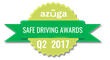 Azuga® Announces Safe Driving Award Recipients of Q2 2017
